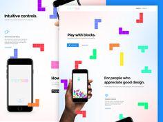 Tetris web by Paweł Pniewski