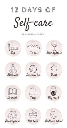 12 Days Of Self-care - Cultivate self-love during Christmas - Our Mindful Life // self care routine/self care to-do list/self care products/ self care tips/ winter self care/ holiday self care/ Christmas self care/ holiday depression/ skin self care/ Self Care Activities, Self Care Routine, Care Quotes, Best Self, Self Development, Self Improvement, Self Help, Body Care, Exercise Routines