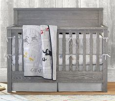Charlie 4-In-1 Convertible Crib | Pottery Barn Kids