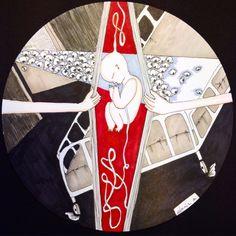my new artwork - public born&dead - illustration - circle