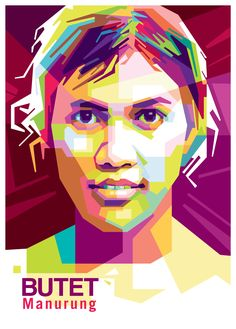 Butet Saur Manurung in WPAP by Limada Iqbal. . . . You want Your face be colorfull? If you are interest with my art, you can contact me at:   Email : order.wpap@gmail.com Line : limadaiqbal WhatsApp : 085776206000  . . . #butet #saur #manurung #study #education #sokolah #rimba #art #wpap #newart #order #likes #popularart #saxofon #music #jazz #goes #to #kandankjurank #fullcolor #vector #art #pinned #popularfilm #portrait #gift #kadounik #kadoultah #birthday #lineart #fanart #coltrane