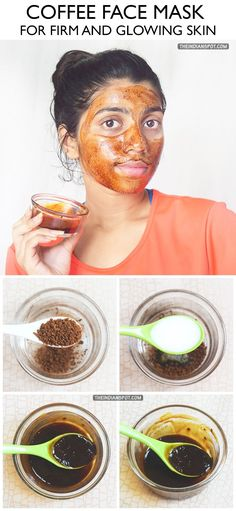 Coffee is one of the richest sources of antioxidants which are important for the skin because theyprotect the skin against free radicals that damage the skin.Just as coffee helps add shine in your hair, it does the same for your skin. Glowing skin is what we all want and coffee mask can do just that! …