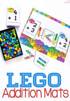 LEGO Addition Mat fo