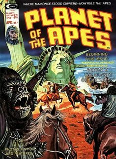 Planet Of The Apes- you know Rod Serling worked on it without reading the credits