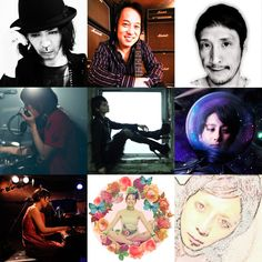"2012.9.22.  cloudchair presents  ""Guitar Sweet Symphony 4""  at 高円寺High    出演:Jake (Guitar : cloudchair), 佐藤研二 (Bass : FOE, THE 卍, etc), 阿部耕作 (Drums : ザ・コレクターズ, チリヌルヲワカ, qps, etc), 山本ムーグ (ターンテーブル : バッファロー・ドーター), noah (Vocal & Guitar : 101A, ephemera), テクマ! (Vocal), Rico (ピアノ : yu-ra), Coppelia Circus (バーレスクダンサー : 紫ベビードール), 古間亭マスカラス (落語 : 高田馬場macana)"