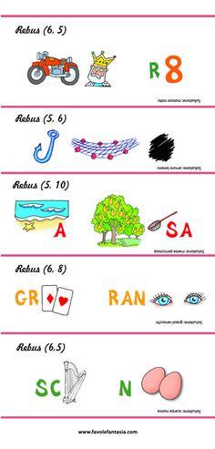 Rebus Facili Da Stampare Of Rebus Per Bambini Con Suggerimenti E Soluzione Da
