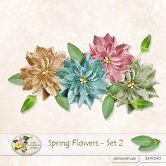 Spring Flowers 2 #digiscrap #theStudio