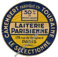 Crèmerie à Parie