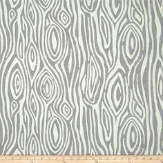 Grey Wood Grain Fabric by the Yard  Premier Prints Willow storm cotton tree Faux Bois - 1 yard or more - SHIPS FAST