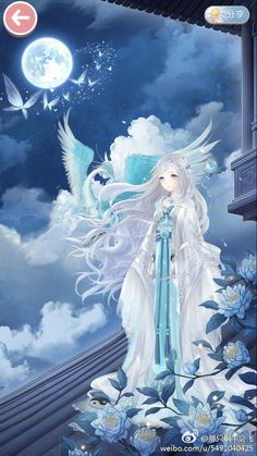 Tranh - Clothing study. Pose study. Anime Art Girl, Manga Girl, Anime Princess, Anime Dress, Anime Angel, Beautiful Anime Girl, Jolie Photo, Anime Outfits, Fantasy Girl