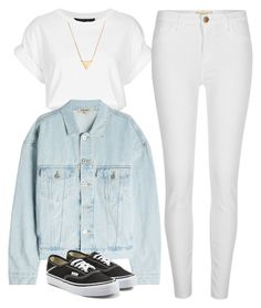 """""""#83"""" by mintgreenb on Polyvore featuring Yeezy by Kanye West, River Island, Vans and BaubleBar"""