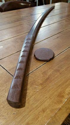 """for aikido kendo kenjutsu kobudo Wooden bokken Bokuto 102 cm 40.1/"""" Ash Brown"""