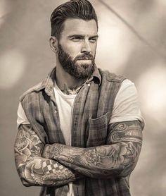 "1,407 curtidas, 10 comentários - Bearded Lifestyle (@beardedlifestyle) no Instagram: ""Levi - @LeviStocke Visit beardedlifestyle.net to get featured ~ #BeardsOfInstagram #BeardGang"""