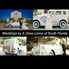 www.aclass-limos.com 954.271.2900 #bocaraton #fortLauderdale #westpalmbeach #miami #southflorida #weddingday #weddings #weddingdress #wedding #rollsroyce #bentlylimo #privatechauffeur #lifestyle...