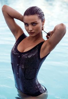Miranda Kerr by Steven Chee for Harper's Bazaar Australia January/February 2016