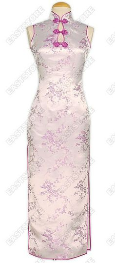 Everybody holds his breath in the sight of your presence with this Elegant Plum Blossom Brocade...