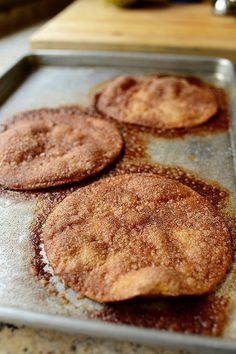 Cinnamon Crisps | The Pioneer Woman - I used 3 T earth balance soy free buttery sticks in place of butter, and only 1/2 c sugar and 1/2 T cinnamon. Soooo yummy.
