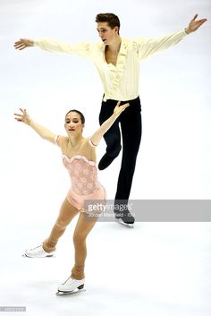 Niccolo Macii and Bianca Manacorda of Italy perform in the Pairs Short Program on Day 1 of the ISU World Junior Figure Skating Championships at Tondiraba Ice Arena on March 4, 2015 in Tallinn, Estonia.
