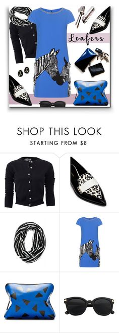 """""""187. Loafers"""" by milva-bg ❤ liked on Polyvore featuring Boutique Moschino, Nicholas Kirkwood, Alice + Olivia, 3.1 Phillip Lim and Alexis Bittar"""
