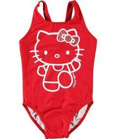 """Hello Kitty """"Glittering Waves"""" 1-Piece Swimsuit « Clothing Impulse"""