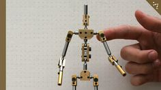 Kinetic stop motion animation armatures.  They also take custom-made orders.