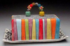 """Милые сердцу штучки: Керамика, стекло, фарфор: """"Масленки и сырницы. Часть 2"""" (подборка)"""