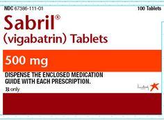 Sabril (vigabatrin) Learn more at http://www.rxwiki.com/sabril #Sabril #seizures #rxwiki