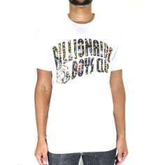 Billionaire Boys Club Arch SS Tee - White Billionaire Boys Club, White Brand, Ss, Arch, Mens Tops, Ideas, Longbow, Wedding Arches, Thoughts