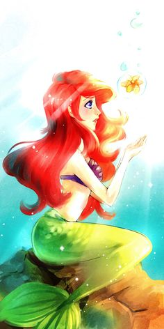 Days of light by AineChida. Is it just me or does Ariel look like Scully in this?