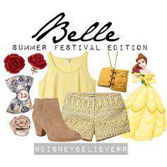 """Belle"" by disneybelieverr on Polyvore"