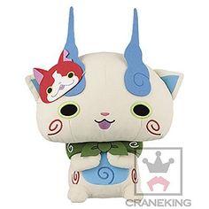 New! Yokai Watch Komasan Mask Plush Doll Japan Limited Stuffed Rare youkai F/S