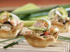 Tartaleta de #mejillones con #ventresca de bonito, un #entrante sorprendente para tus cenas de verano.