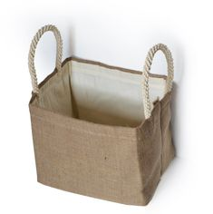 dorm laundry bag, dorm decor, dorm cubby bin, pink burlap basket