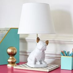 French Bulldog Table Lamp #pbteen