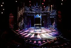 The Rocky Horror Show. Cincinnati Playhouse. Scenic design by Paul Shortt.