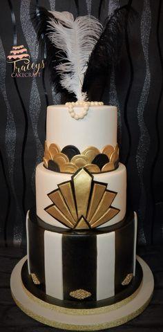 Gatsby theme cake