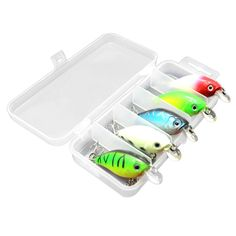 Details about  /Lot 5* Glow Metal Jig Lures Slow Fall Fishing Sinking Lure with Treble Hook Jigs