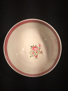 Lovely British porcelain bowl c1780  Unfortunately our research has been inconclusive and we havent been able to identify a maker, still this is a great piece  This item stands at 6.5cm tall and measures 12cm at its widest point Please see photos for condition, we are also happy to provide a detailed condition report if requested  Sold to you from a trusted and established antiques, fine arts, and jewellery shop based near the popular UK tourist destination of Stratford-Upon-Avon  If you…