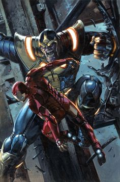 #Iron #Man #Fan #Art. (Civil War II Vol.1 #3 Bulletproof connecting variant cover) By: Marko Djurdjevic. ÅWESOMENESS!!!™ ÅÅÅ+