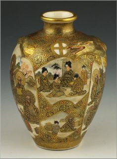 Japanese Satsuma Meiji Period