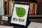 Be Social Change New York is an education platform for change makers, social entrepreneurs, techies, non-profit workers, educators, students, investors, and overall do and want-to-do gooders.