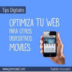 #tipsDigitales Genera sitios funcionales. Permite que se adapten a cualquier dispositivo, ya una laptop, una tablet o un smartphone.