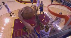 LeBron James Blocked Steph Curry?s Practice Layup Then Stared Him Down