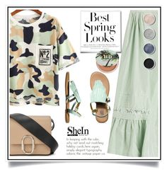 """""""Sheinside"""" by ewa-naukowicz-wojcik ❤ liked on Polyvore featuring Rochas, 3.1 Phillip Lim, Vans, H&M, Urban Decay and Terre Mère"""