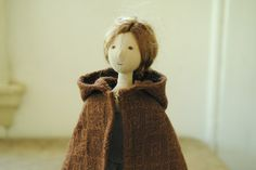 Four new cloth dolls (and two pairs of mushrooms) will be available to purchase via my online store from (Sydney time) Thursday 15 December. Each doll comes with her own cloak, handmade. Sewing Toys, Textile Artists, Pattern Design, Doll Clothes, Sewing Patterns, Textiles, Dolls, Adele, Blog