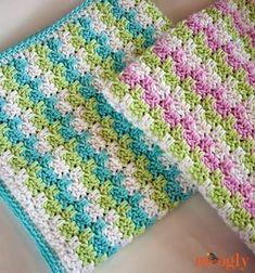 Free Crochet Patterns and Designs: 10+ FREE Crochet Patterns for Baby Blankets {Baby Afghan Crochet Patterns FREE} by Jennifer Nicholson