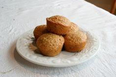 Grain Crazy: Honey Oat Muffins