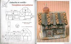My Dream Quilts Reiko Kato - Ludmila Krivun - Álbumes web de Picasa Sewing Box, Sewing Notions, Embroidery Patterns, Quilt Patterns, House Quilt Block, Japanese Patchwork, Small Sewing Projects, Fabric Boxes, Landscape Quilts