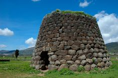 A Nuraghe, Sardinia, Italy. These structures are found throughout the island and date from 1500 BC!!!
