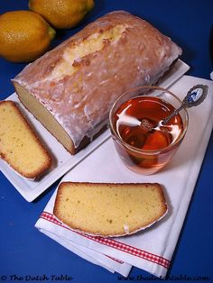 Dutch Food - Citroencake